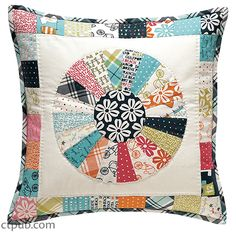 Make Pillows, part of our new Make booklet series, is packed full of twelve pillow projects that would work with any home decor style. Wondering which one is right for your space? Follow our handy guide below! Is your style a combination of traditional and modern?  Try making the Breeze pillow from Sherri McConnell! Are you a fan of vintage appliqué?  Then we know you'll love the More Tea? pillow created by Kajsa Wikman. Or are you a modern scrappy kind of gal?  Meet ...