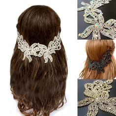 💕Our special hair floater collection is out now. Feel free to check out at our rhinestone headpiece collection.