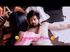 New Album Song, Album Songs, Cute Love Stories, Cute Love Songs, Romantic Songs, Romantic Love, Boyfriend And Girlfriend Kissing, Tamil Video Songs, Husband And Wife Love