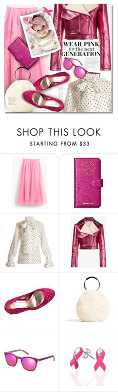 """""""For the Next Generation"""" by petri5 ❤ liked on Polyvore featuring J.Crew, Michael Kors, Loewe, Sies Marjan, BCBGeneration, Yves Saint Laurent and Bling Jewelry"""