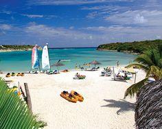 Antigua all-inclusive resort.