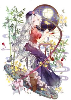 Akeila No Kaguya, but this pin of Erin is so pretty I can't resist. Anime Girl Cute, Beautiful Anime Girl, Kawaii Anime Girl, Anime Art Girl, Anime Girls, Manga Girl, Manga Anime, Animé Fan Art, Ecchi