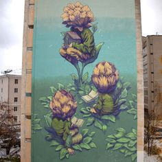 New Surreal Paintings and Murals by Rustam Qbic http://www.thisiscolossal.com/2014/10/qbic/