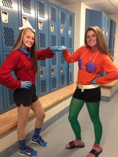 Partner pair Halloween costume for teen girls!