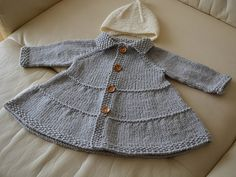 Ravelry: LilyLilyLily's Toddler Tiered Coat