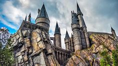 Florida- Hogwarts Castle, The Wizarding World of Harry Potter at Universal's Islands of Adventure