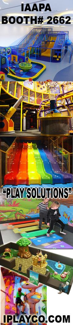 Iplayco is at the IAAPA trade show in Orlando, FL. Drop by booth 2662. Indoor play structures, interactive events, soft toddler play, custom theming, ballistic ball shooters, soft sculpted foam, installs worldwide, adventure play, jungle gyms, climbing walls, sport courts, play frames, Eyeclick installers, Eyeplay installers, Air Trek, laser tag & 3D mini golf arenas... and more fun products! We design, manufacture and install.