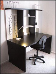 IKEA Mikael Home Office Desk (DIY Idea)