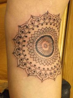awesome Geometric Tattoo - nice Geometric Tattoo - Custom mandala tattoo by Alexandra Novotna at English Ta...