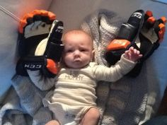 Looks like someone is ready to be an Oiler - Norma Patenaude | #Oilers