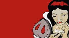 Snow White Cocaine Disney Wallpaper