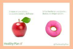 Mejores Hábitos. Elijamos de entre lo bueno.. Lo mejor.  Sin remordimientos. Come lo que te hace sentir bien cuando lo comes y después de que lo comes :) Digamos no a las comidas procesadas. #saludable #healthyoptions @TheHealthyPlan