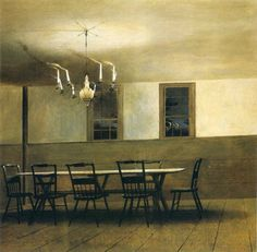 Cozyhuarique by Andrew Wyeth