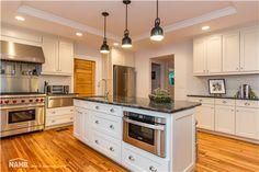 Edward Kidder Graham House received a 2014 Best in American Living Award for Restoration/Historic Preservation House, Cool Kitchens, Home, Kitchen Cabinets, Historic Preservation, Kitchen, American Kitchen, Home Builders, American Living