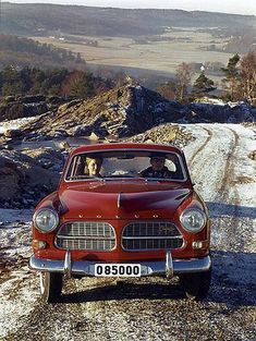 Rich and I love our red volvo. Volvo Amazon, Automobile, Volvo Cars, Volvo Auto, Volvo 240, Diesel Cars, Ford Classic Cars, Vintage Cars, Cool Cars