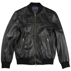 PS Paul Smith Leather Jacket