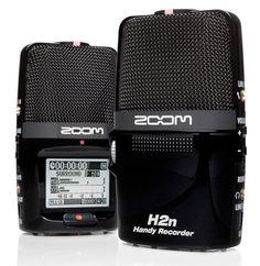 Zoom H2n portable recorder touts five internal mics, adjustable recording range