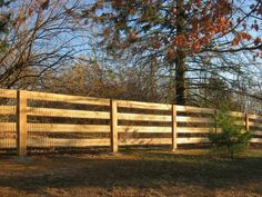 Post and Rail Fencing www.trigroupbuilders.com