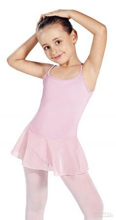 Deti - Tanečné dresy - Tanečný dres - Dres so sukničkou -  RDE10363 Materiál: Cotton/Jersey SoDanca - 5kdance.sk
