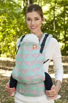 Ehawee Cranes Candy TULA BABY CARRIER