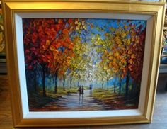 We own a similar original painting by Slava Ilyayev. Absolutely beautiful! Thanks to Park West art auctions on on our cruise (don't judge me, I'm a hell of a haggler)