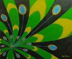 "Saatchi Art Artist Liza Wheeler; Painting, ""Argos - impressionist abstract mythology painting"" #art"