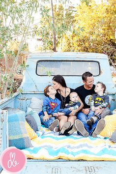 I want this picture with my future family and truck! Tho of it was me. Mama would have a superwoman shirt in ;)