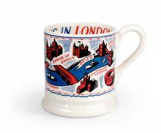 Emma Bridgewater Colourful London Litho 1/2 Pint Mug