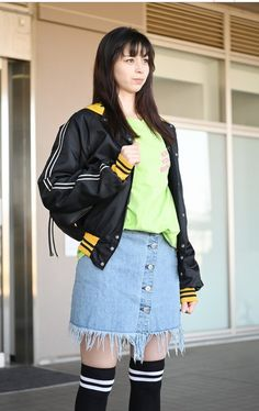 Sink Or Swim, Japanese Girl, Bomber Jacket, Actresses, Ayami, Portrait, Cute, Model, Jackets