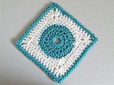 Ravelry: Circle in the Square 6 Granny Square pattern by Marie Anne St. Jean