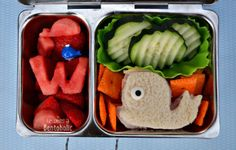 W is for Whale ~ Becoming A Bentoholic #PlanetBox