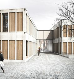 """New """"ateliers"""" for the Foundation Les Oliviers LARCHS, Paolo Molteni, Emanuele Colombo"""