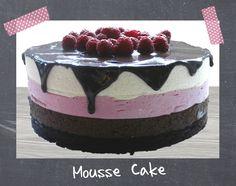 Tarta Mousse de Chocolate y Frambuesa
