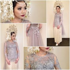 The make up, hair and kebaya for her traditional Padang wedding by yours truly.Suntiang by Gadih Ranti