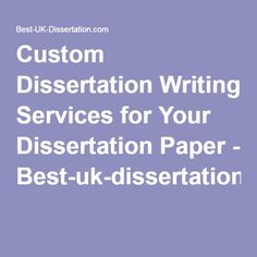 Guidance Counselor dissertation writing services