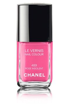 Chanel nail polish- Rose Insolent