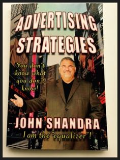 Book Purchase - Advertising Strategies by John Shandra Advertising Strategies, Writing, Amazon, Medium, Books, How To Make, Livros, Riding Habit, Amazon River
