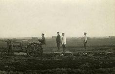 Kullervo-moottorivetäjä #Kullervo  #traktori #tractor  Hankkijan arkisto
