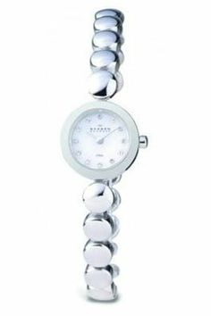I have this watch and love it! Skagen Watches, Stainless Steel Bracelet, Gold Watch, Bracelet Watch, Lady, Bracelets, Denmark, Accessories, Jewelry