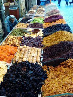 Mahne Yehuda Market - Jerusalem, Israel