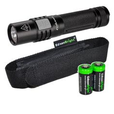 Fenix E35 Ultimate Edition (E35UE) 900 Lumen CREE XM-L2 U2 LED Flashlight with holster and Two EdisonBright CR123A Lithium Batteries. ** Startling review available here  : Camping stuff
