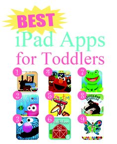 Best iPad Apps for Toddlers 2012. Best Kids apps. Best baby apps.