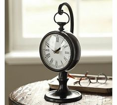 Pendant Clock #potterybarn.  I finally ordered this clock for my office.  I am so excited about it, and can't wait to see how it looks on my desk.