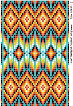 off loom beading stitches Indian Beadwork, Native Beadwork, Native American Beadwork, Bead Loom Patterns, Cross Stitch Patterns, Quilt Patterns, Jewelry Patterns, Native Beading Patterns, Weaving Patterns
