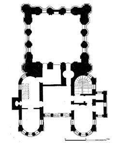 Mecidiye Camisi, İstanbul. Plan (S. Batur)