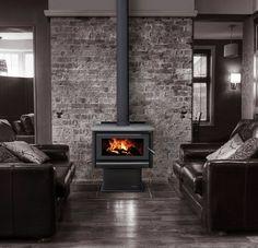 Masport R5000 Freestanding Radiant Fire with Ash pan