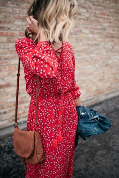 Spring Trends That Won't Break The Bank   spring style   casual style   women's fashion   what to wear for spring   spring outfit ideas   floral maxi dress