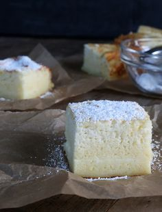 Gluten Free Custard Cake—simple ingredients, magic cake!. ☀CQ #glutenfree #pumpkin