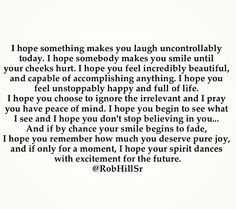 My hopes for you... @RobHillSr