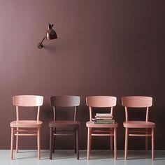 #duskypink #decoration #interior #interiordesign #design #homedecor #homeinspiration #interiorinspiration #classyinterior #instahome #furniture #homesweethome #clearinterior  #decoration #inspo #inspohome #inspiration #chair #wallcolor by dusky.pink
